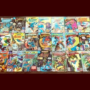 Huge comic lot 20cents to 60 cents